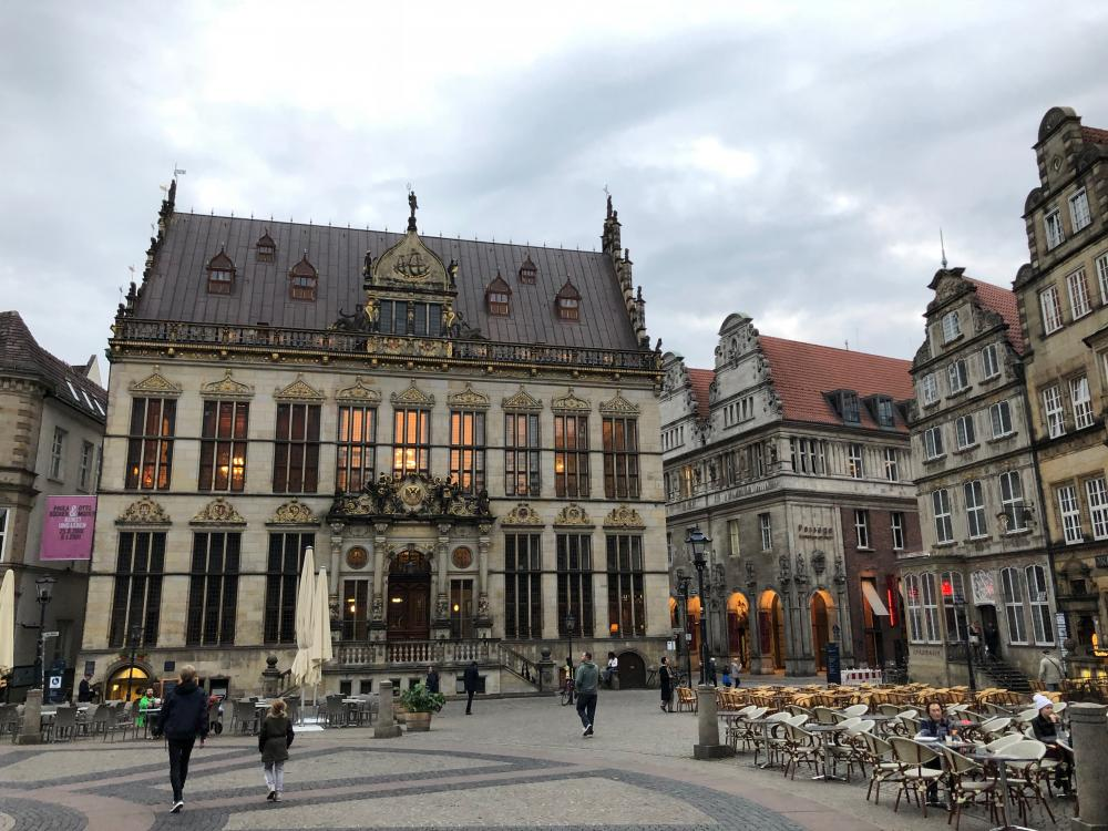 Bremen city square, source: private photo