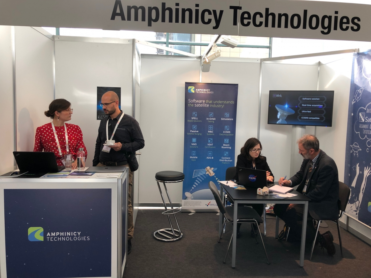 Amphinicy booth, source: private photo